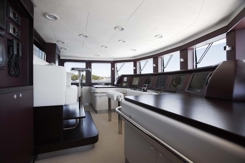 Yacht With An Incredible Interior. The Helix Yacht from Feadship title=