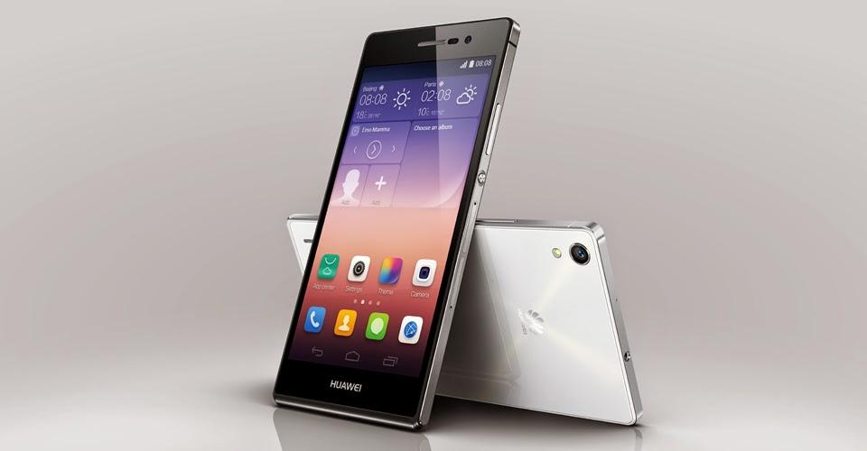 Huawei Ascend P7 Terjual 1 Juta Unit Dalam Waktu Sebulan