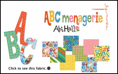 Moda ABC MENAGERIE Quilt Fabric by Abi Hall for Moda Fabrics