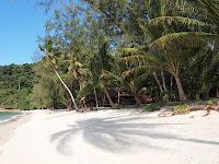 Rimba Resort beach, Pulau Sibu
