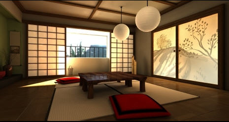Inspired to create beautiful home decor from asia Japanese inspired room design