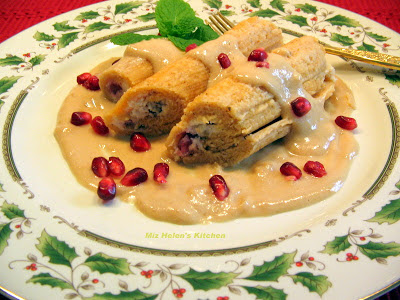 Christmas Eve Buffet at Miz Helen's Country Cottage, a traditional Tex Mex Buffet featuring Homemade Tamales.
