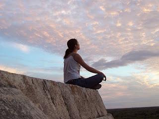 Meditación al aire libre