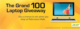 Robinsons Malls Promo, contest, Philippines promo contest