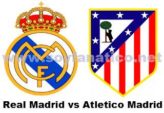 Derbi Atletico vs Real Madrid - Liga BBVA 2013