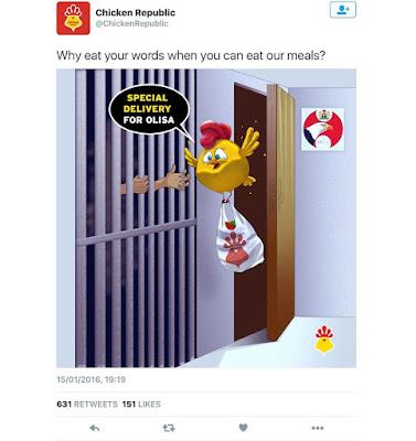 Chicken Republic Shades PDP Spokesman Olisa Metuh On Twitter (Screenshots)