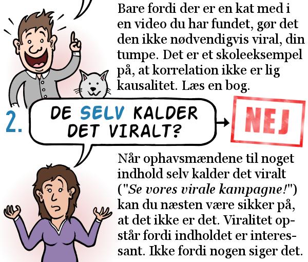 STRIBE FRA METROXPRESS: Sådan bruger du ordet VIRALT