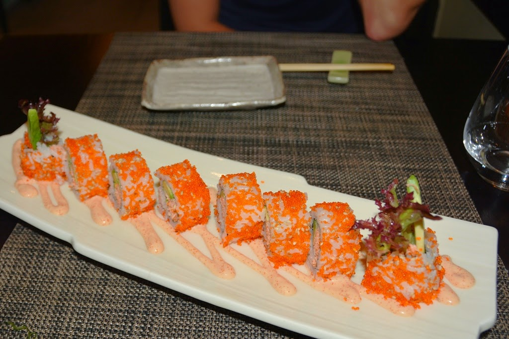 Restaurant Miyama Madrid California Roll
