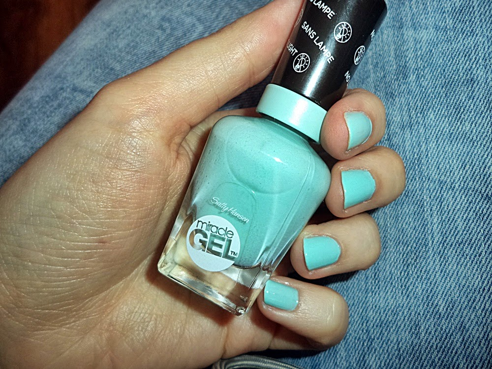 lakiery Miracle Gel Sally Hansen