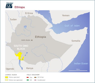 Tullow oil Ethiopia south omo