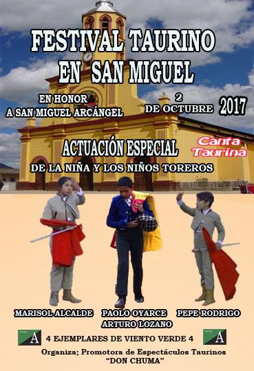 FESTIVAL TAURINO EN SAN MIGUEL