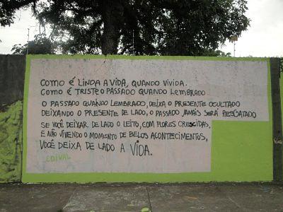 Arte urbana, ruas, muros e praças