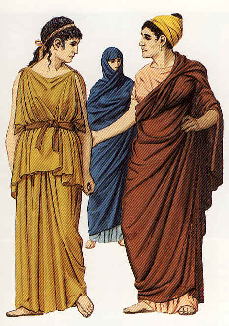 grecia vestimenta