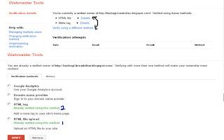 Cara Pasang Meta Google Analisis Blog 2