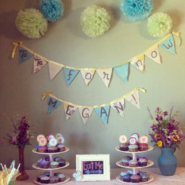 Love Sparkle Pretty Blog Owl themed surprise party
