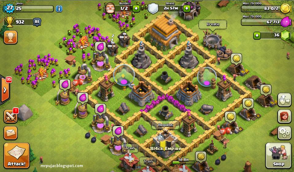 update perkembangan clash of clans mrpujar