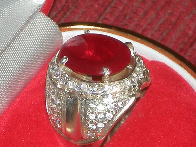 ... 295545999 1 gambar cincin batu akik merah siam Batu Akik Merah Siem