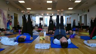 Yoga på Friskis, City