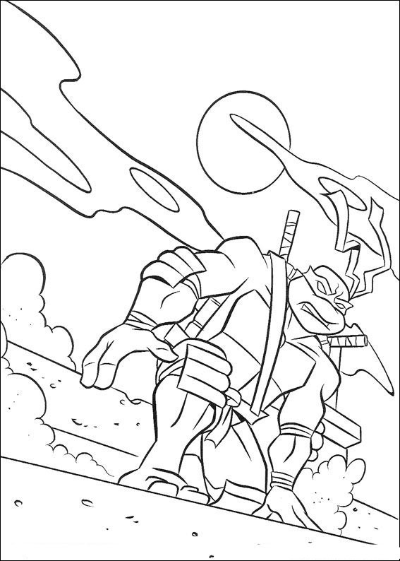 ninja coloring pages for teens - photo#7