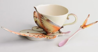 porcelain tea cups