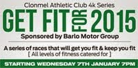 Clonmel 4k series...Every Wed...7th Jan-4th Feb 2015