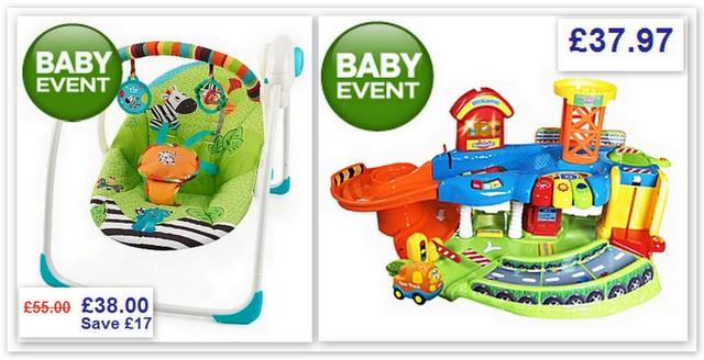 asda baby swing seat 1
