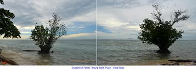 Pantai Tanjung Barat, Pulau Tidung