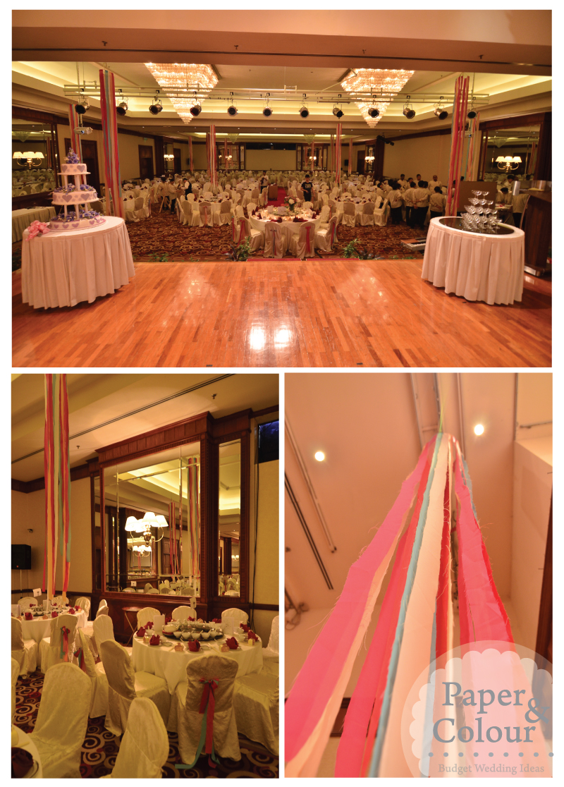 Redirecting for Ball room decoration