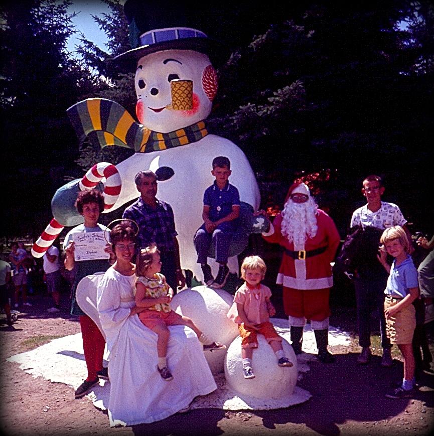 santas village, santa claus, santa, snowman, jefferson