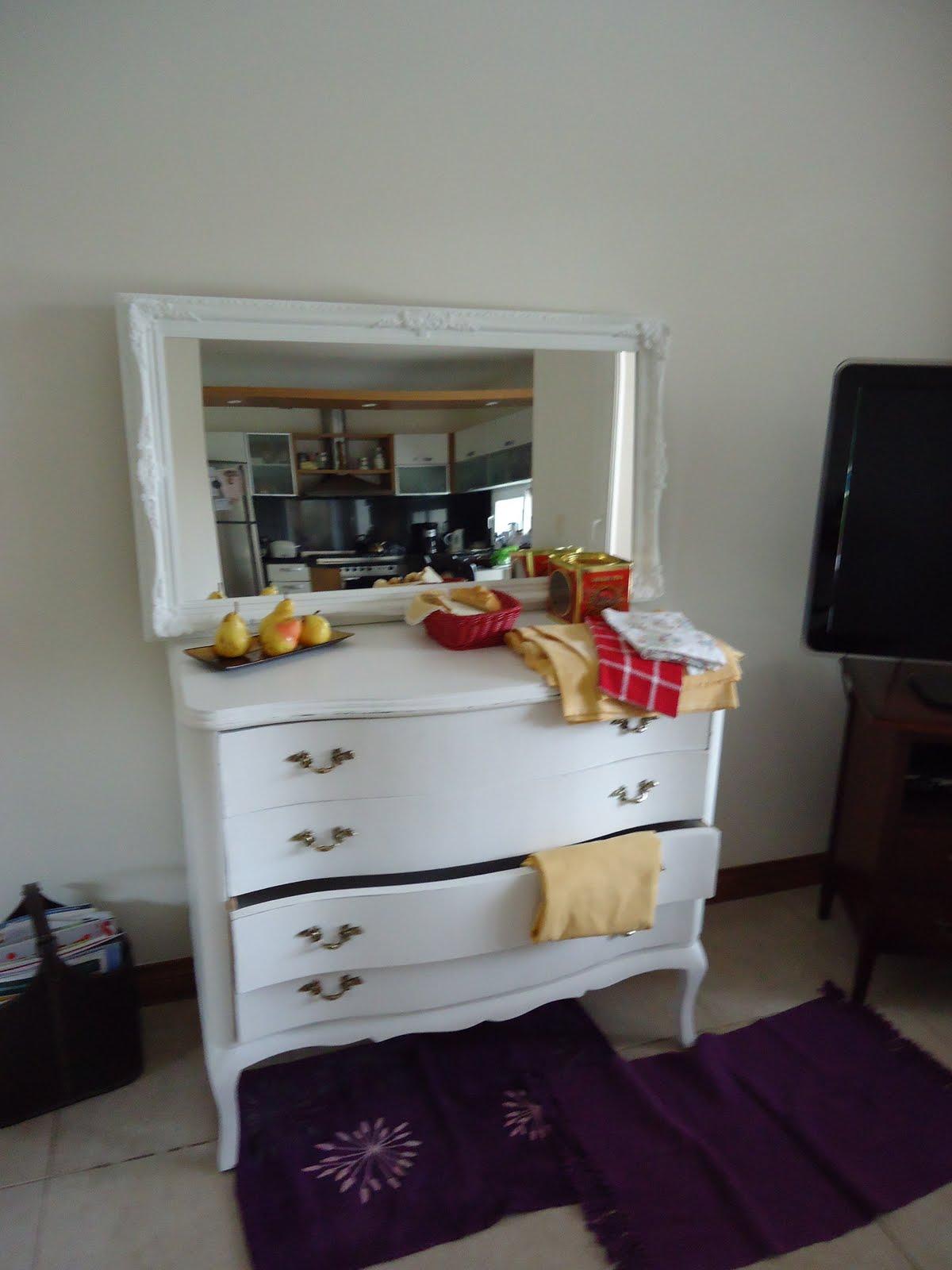 Vintouch muebles reciclados pintados a mano espejo antiguo frances 8 molduras 1 15 mt x 65 cm - Muebles de 2 mano ...