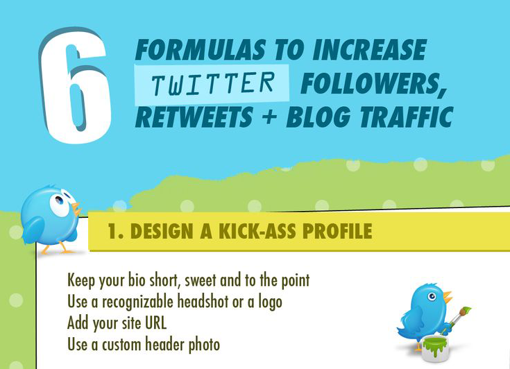6 Formulas to Increase Twitter Followers