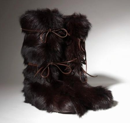 Fur Boots Mens