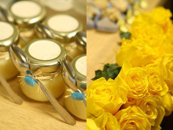 decoracao azul e amarelo para cha de bebe : decoracao azul e amarelo para cha de bebe:Festa da Marinoca!: Chá de bebê em amarelo + azul !
