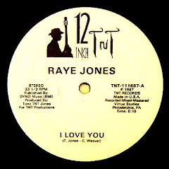 Raye Jones – I Love You / Face Attraction 1987