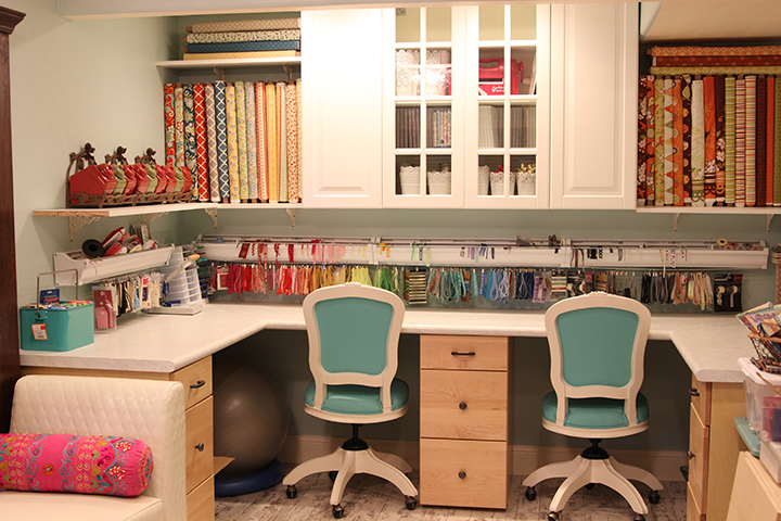 Craft room studio makeover remodel Samantha Walker blog