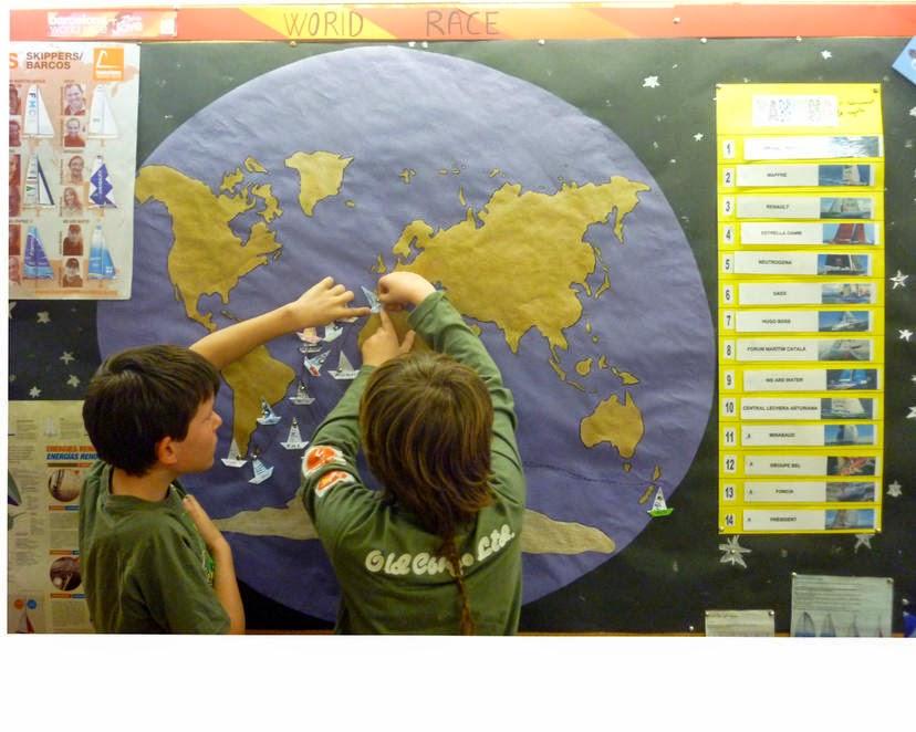 Escoles adherides al Programa Educatiu de la regata