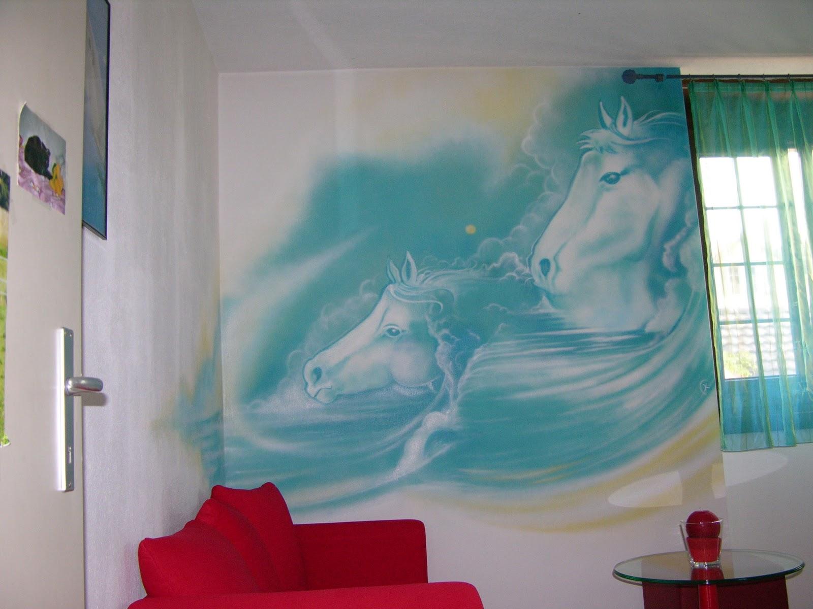 Maison Du Monde Chambre Adolescent : Graffiti décoration trompe l'oeil en Suisse et en France