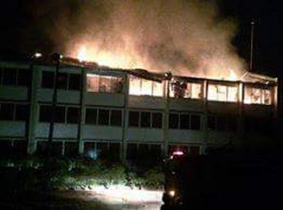 UNN hostel On Fire 6