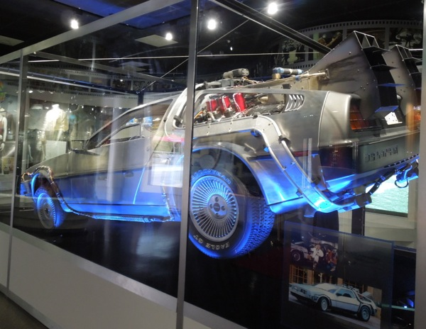 DeLorean Time Machine Back to the Future