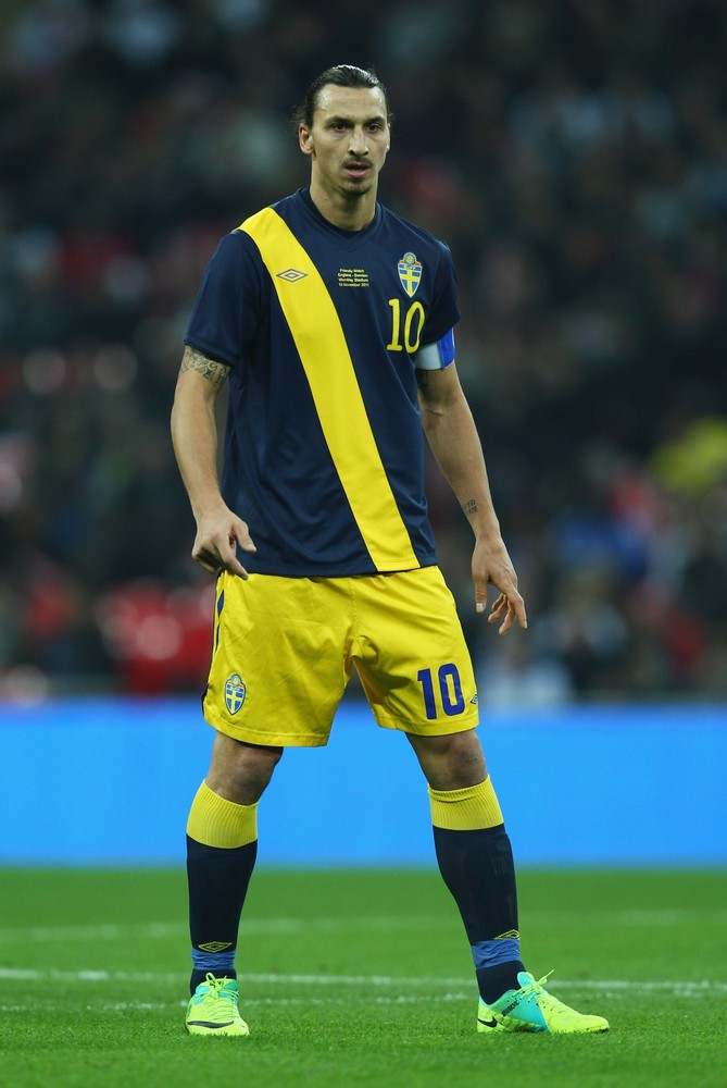 Hot Football Players: Zlatan Ibrahimovic