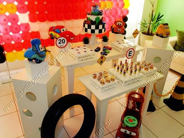 decoracao festa infantil carros provencal porto alegre