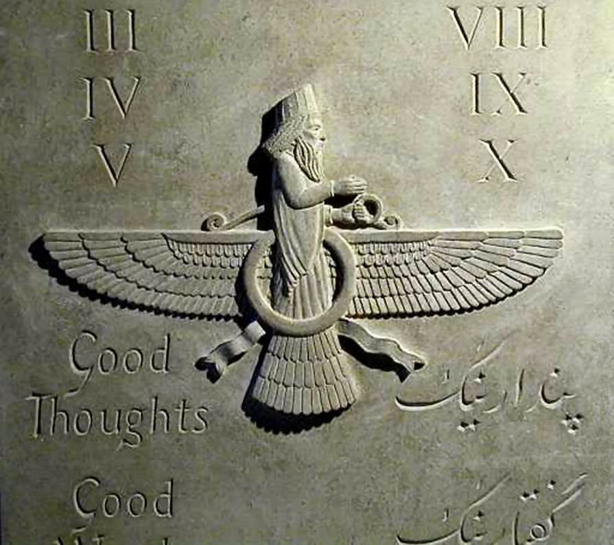 Okar Research Ohrmazd Ahura Mazda Ancient Persian Asura Worship