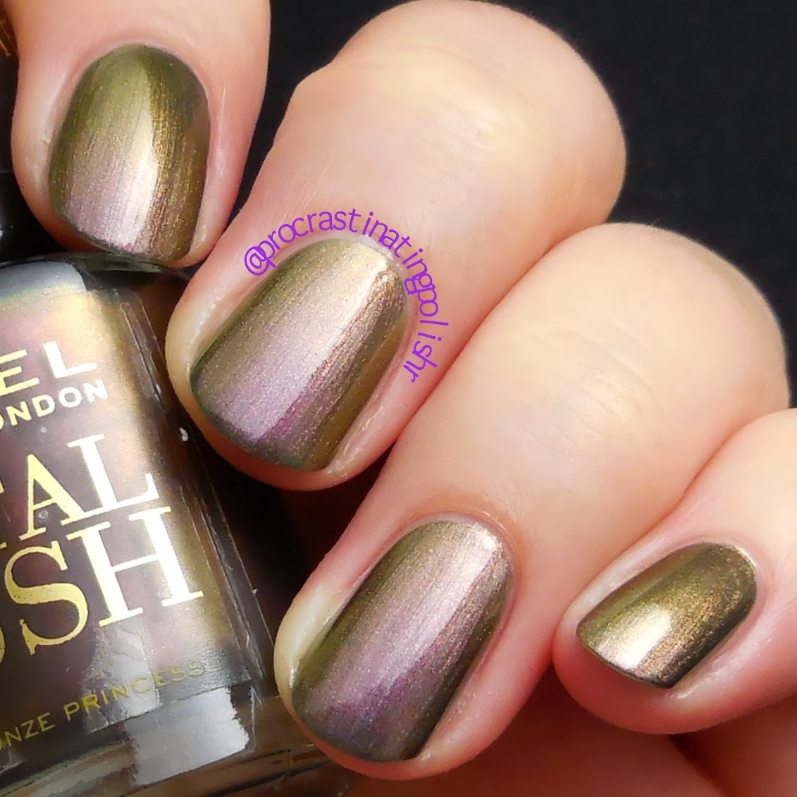 Rimmel - Bronze Princess - Metal Rush collection