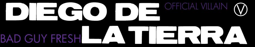 Diego De La Tierra x BAD GUY FRESH