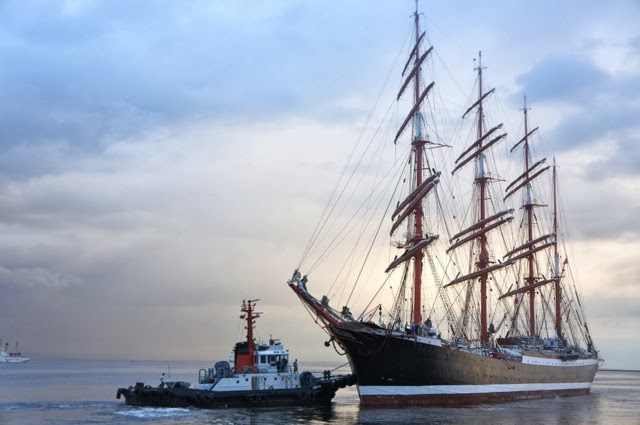 THE WORLD'S MOST FAMOUS SAILING SHIP. Click on the photo.