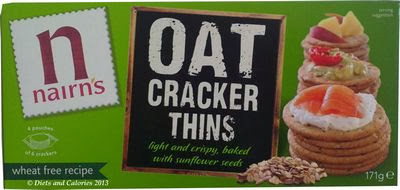 Nairn's Oat Cracker Thins packet