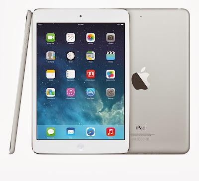 Especificaciones iPad Mini Retina