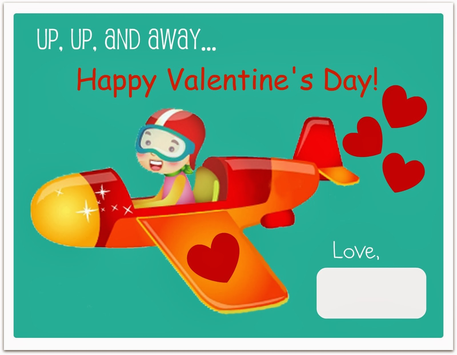 This is a photo of Peaceful Downloadable Valentines Card