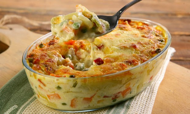 Ruth Nunes : Vegetable au Gratin Delight