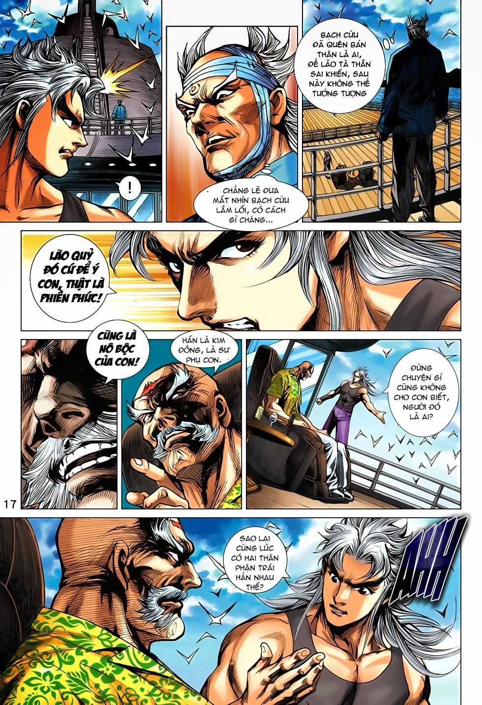 Tân Tác Long Hổ Môn chap 708 - Trang 18